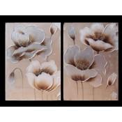 Flor plata/oro