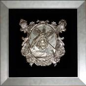 Cristo de Las Torres de orfebrería en plata