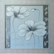 Flor plata