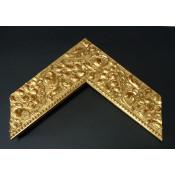 Moldura en pan de oro
