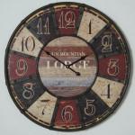 Reloj Madera forja