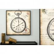 Reloj vintage dibujo