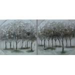 Pareja árbol plata